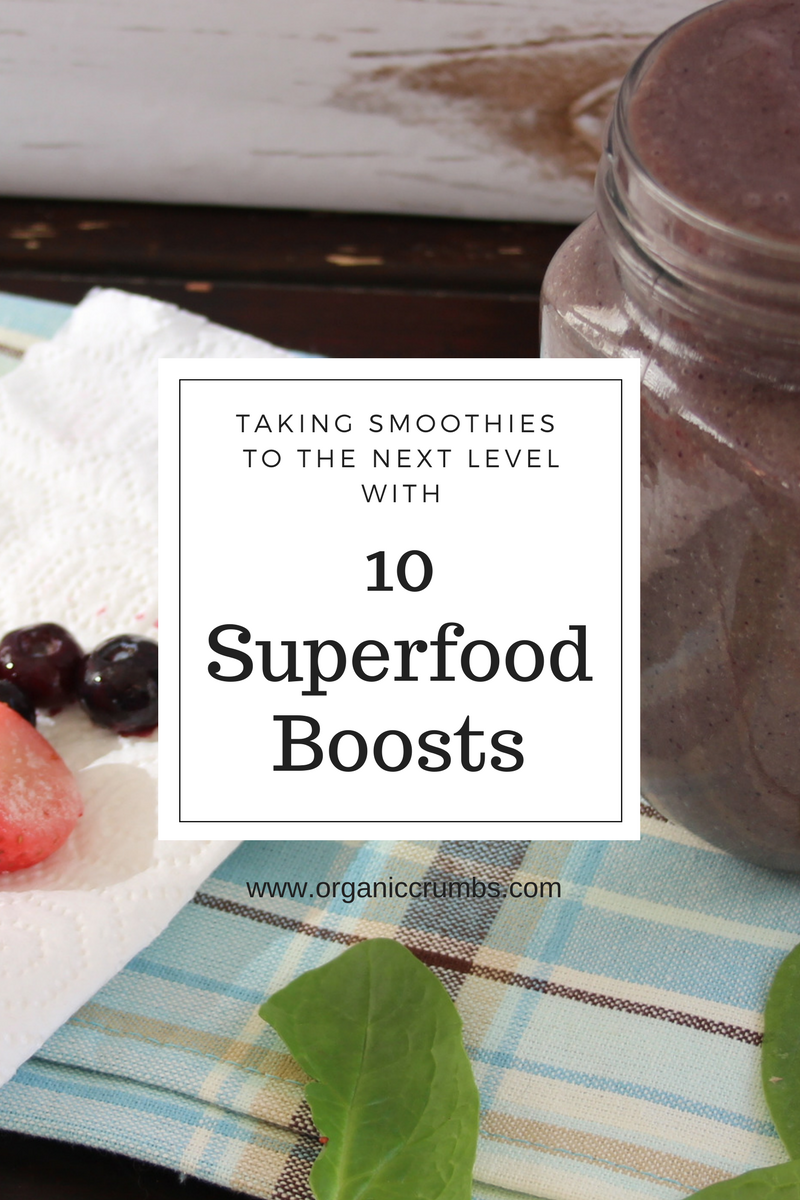 11 SuperFood Boosts to Take Your Smoothie to the Next Level