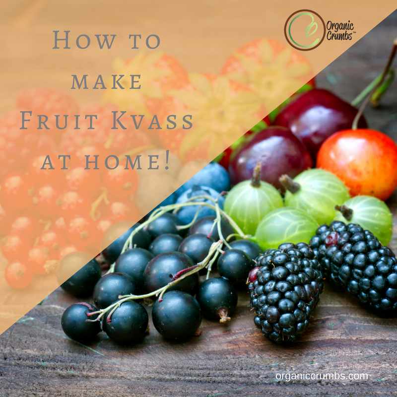 Home Fermenting Your own Fruit/Veggie Kvass