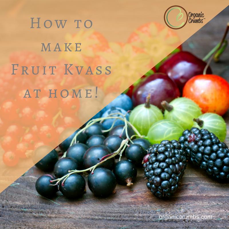 Home Fermenting Your own Fruit/Veggie Kvass